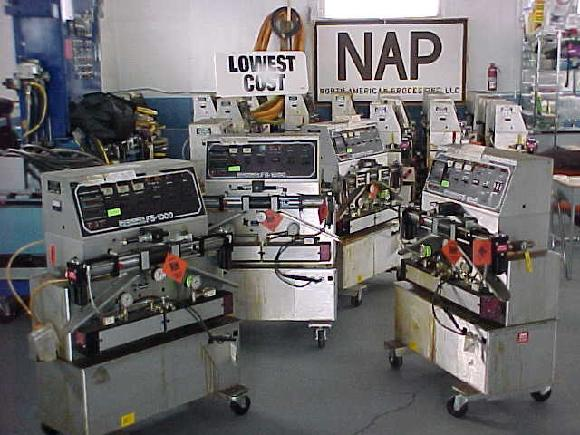 North American Processing Plural Components Spray Foam